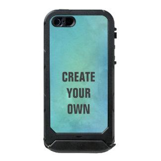 Schaffen Sie Ihre eigene Türkis-Aquarell-Malerei Incipio ATLAS ID™ iPhone 5 Hülle