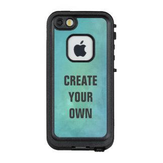 Schaffen Sie Ihre eigene Türkis-Aquarell-Malerei LifeProof FRÄ' iPhone SE/5/5s Hülle