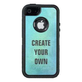Schaffen Sie Ihre eigene Türkis-Aquarell-Malerei OtterBox iPhone 5/5s/SE Hülle