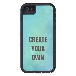 Schaffen Sie Ihre eigene Türkis-Aquarell-Malerei Schutzhülle Fürs iPhone 5