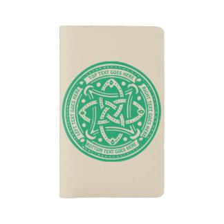 Schaffen Sie Ihre eigenen keltischen Großes Moleskine Notizbuch