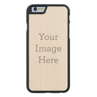 Schaffen Sie Ihre Selbst Carved® iPhone 6 Hülle Ahorn