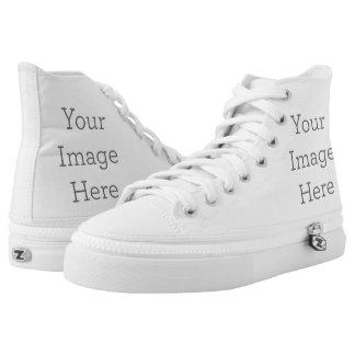 Schaffen Sie Ihre Selbst Hoch-geschnittene Sneaker