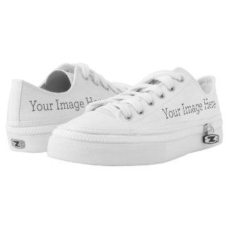 Schaffen Sie Ihre Selbst Niedrig-geschnittene Sneaker