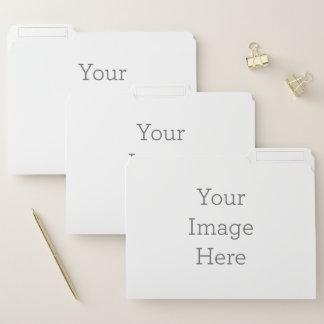 Schaffen Sie Ihre Selbst Papiermappe