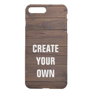 Schaffen Sie Ihren eigenen hölzernen Boden-Blick iPhone 8 Plus/7 Plus Hülle