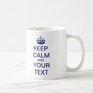 """Schaffen Sie Ihren kundenspezifischen Text """"behalt Teetasse"""