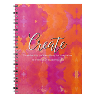 Schaffen Sie inspirierend Entwurf Spiral Notizblock