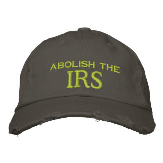 schaffen Sie, IRS ab Bestickte Kappe