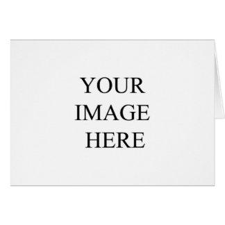 Schaffen Sie mit Ihrem eigenen Bild Grußkarte
