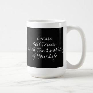 Schaffen Sie Selbstachtung mit der Qualität Ihres Kaffeetasse