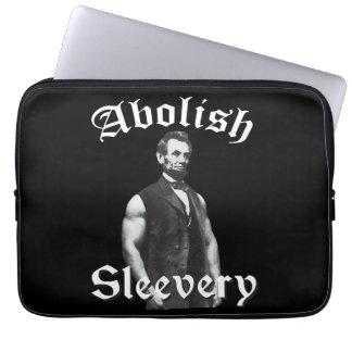 Schaffen Sie Sleevery - Abraham Lincoln ab Laptopschutzhülle