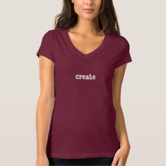 Schaffen Sie Wort-Inspiration des T - Shirt-einer Tshirts