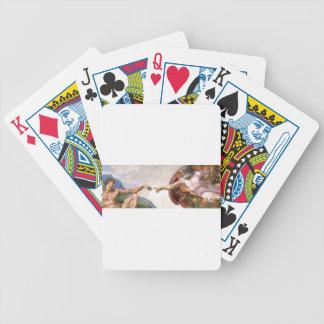 Schaffung von Adam Bicycle Spielkarten