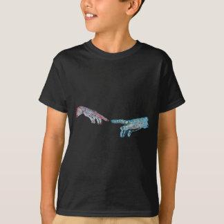 Schaffung von Cyber-Adam T-Shirt