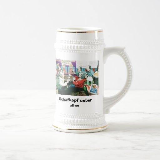 Schafkopf ueber alle kaffee tassen