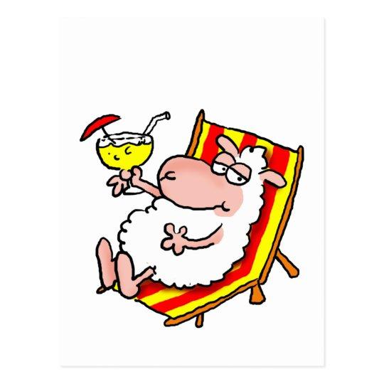 "Schafskarte ""Relax"" Postkarte"