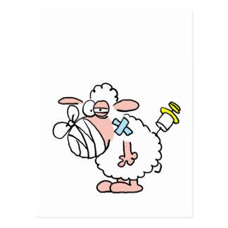 Schafskrankheit Postkarte