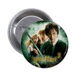 Schaftmaschinen-Gruppen-Schuss Harry Potters Ron H Anstecknadel