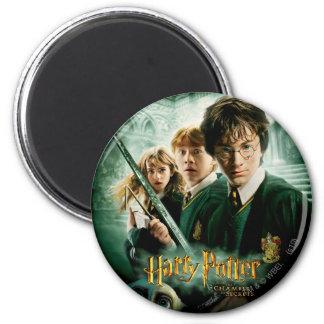Schaftmaschinen-Gruppen-Schuss Harry Potters Ron H Magnete