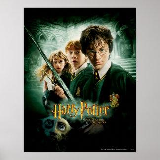 Schaftmaschinen-Gruppen-Schuss Harry Potters Ron H Poster