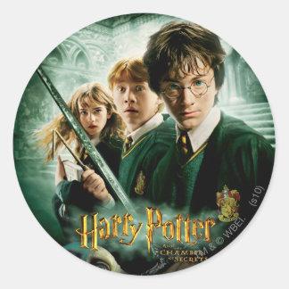Schaftmaschinen-Gruppen-Schuss Harry Potters Ron Runder Aufkleber