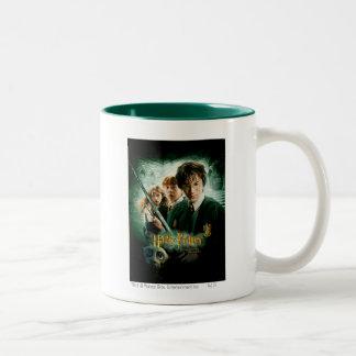 Schaftmaschinen-Gruppen-Schuss Harry Potters Ron Zweifarbige Tasse