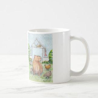 Schaftmaschinen- und Freundklassiker-Tasse Kaffeetasse