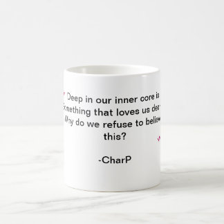 Schale des inneren Kernes Kaffeetasse