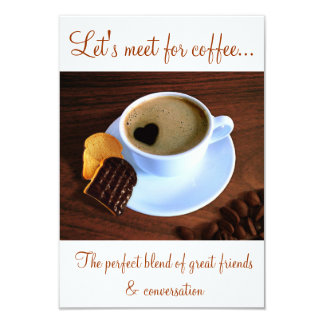 kaffee liebe einladungen | zazzle.de, Einladung