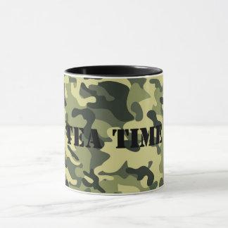 Schale in der Tarnung Tasse