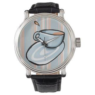 Schalen-Gemisch-blaue Uhr