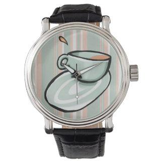 Schalen-Gemischgrün Uhr