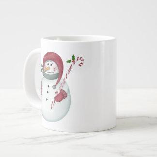 Schalen mit Schneemann Jumbo-Tasse