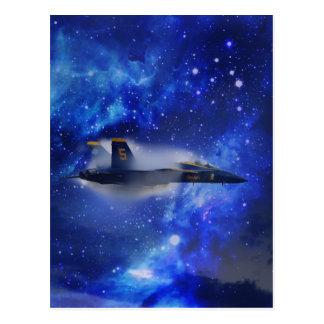 Schallmauer-Flugzeug Postkarten