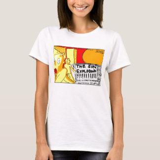 """Schalter - """"schlechtester Sun-Fleck """" T-Shirt"""