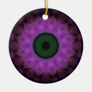 Schandfleck-lila schlechtes Auge Keramik Ornament
