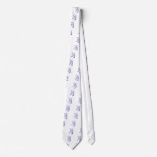 Scharf-shinned Falke-marschierendes Zeichnen Bedruckte Krawatten