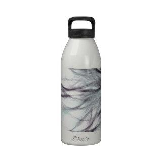scharf und stachelig wasserflasche