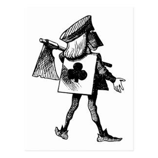 Scharfrichter des Verein-Schwarzen Postkarte