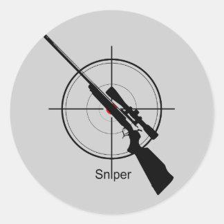 Scharfschütze - Aufkleber