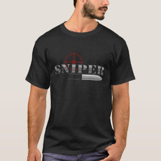 Scharfschütze-Kugel-Fadenkreuze T-Shirt