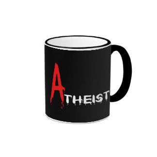 Scharlachrot Atheisten- Kaffeetassen