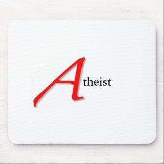 Scharlachrot atheistische Mausunterlage- Mauspads
