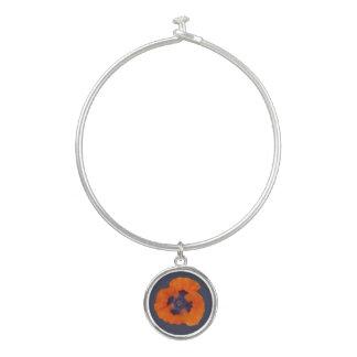Scharlachrot der orange Mohnblumen-1 Armreif