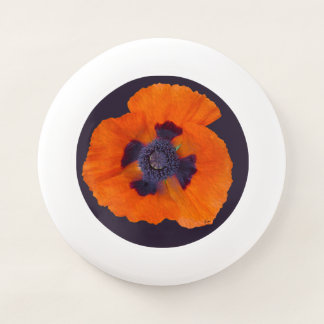 Scharlachrot der orange Mohnblumen-1 Wham-O Frisbee