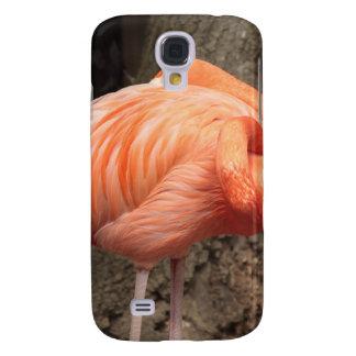 Scharlachrot Flamingo- Galaxy S4 Hülle