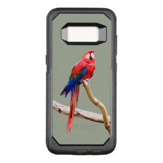 Scharlachrot Macaw Otterbox Telefon-Kasten OtterBox Commuter Samsung Galaxy S8 Hülle