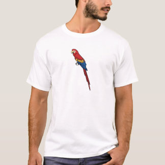 Scharlachrot Macaw- T-Shirt