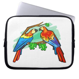 Scharlachrot Macaws- Laptop Sleeve